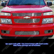 Fits 2004-2010 Chevy Colorado Xtreme Billet Grille Combo Insert
