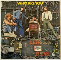 """PETE TOWNSHEND HAND SIGNED 12"""" VINYL - THE WHO - WHO ARE YOU."""