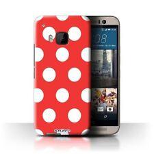 Étuis, housses et coques rouge HTC One pour téléphone mobile et assistant personnel (PDA) à motifs