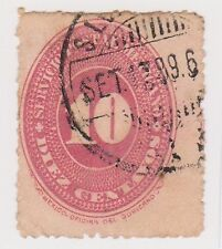 (MCO-49) 1886 Mexico 10c red