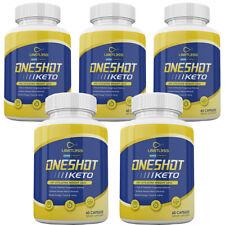 One Shot Keto Pills - Limitless Oneshot Keto Capsules - 5 Month Supply