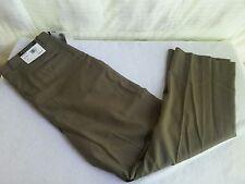 New Brandini LE COLLEZIONI Men's dress pants Size 32X30 Pleated 100% Wool