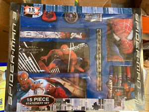 Spider-man  15 Piece Stationary Set Marvel New In Box