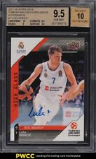 2017 Upper Deck Turkish Airlines Euroleague Luka Doncic ROOKIE AUTO #1 BGS 9.5