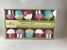 Kurt S. Adler Cupcake 10 Light Set Christmas Lights ITEM#UL1270 * (F1)