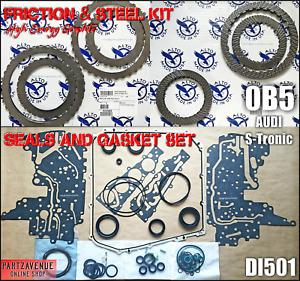 OVERHAUL DL501 FRICTION STEEL SEALS,REPAIR PARTS GEARBOX AUDI Q5,A4,A5,A7,A6,0B5