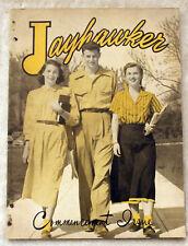 1949 UNIVERSITY OF KANSAS JAYHAWKER Jayhawks LAWRENCE KS Magazine Yearbook KU
