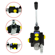 13gpm Hydraulic Directional Control Valve Tractor Loader With Joystick 1 Spool