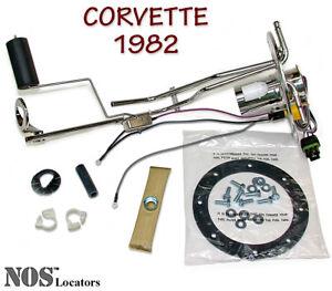 1982 Corvette Stainless Fuel Tank Sending Unit NEW w/Gasket & Hardware