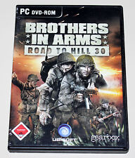 Brothers in Arms-Road to Hill 30-PC juego en original DVD Box con manual