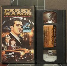 Perry Mason Collector's Edition VHS The Case of Restless Redhead & Baited Hook