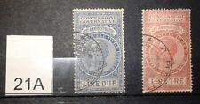 Marche da bollo per concessioni governative  atti amministrativi 1924   2e3 lire
