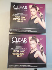 Clear Scalp & Hair Miranda Kerr Resilient Shampoo & Conditioner 2 boxes
