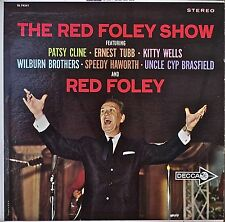 THE RED FOLEY SHOW-1963LP PATSY CLINE/ERNEST TUBB/KITTY WELLS