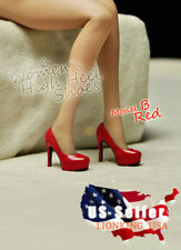 "1/6 High Heel Shoes B For 12"" TBLeague PHICEN Hot Toys Female Figure ❶USA❶"