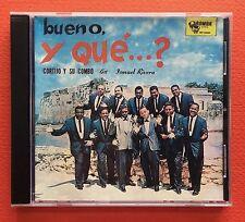 Cortijo & Su Combo Bueno y Que 1960 Perfume De Rosas Salsa CD RUMBA Puerto Rico