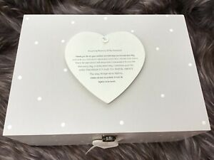Personalised VERY LARGE Memory Box HUSBAND or Any Name Bereavement Loss Memorial