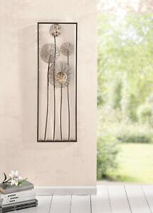 "Wanddeko ""Flowers"" - 30 x 4 x 90cm"