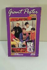 New Kids On The Block Giant Poster 500 Piece Xl Puzzle Milton Bradley New in Box