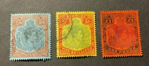 BERMUDA USED HIGH VALUE STAMPS