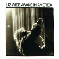 U2 Wide Awake in America 1985 Album Cover Stretch Canvas Wall Art Poster Print