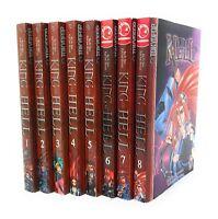 King of Hell 1-8 Lot of 8 Shonen Manga Manhwa, English Ra In-Soo