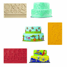 Wilton Fondant Shapes Sugar Gum Paste Sugarcraft Cake Decorating Silicone Mould