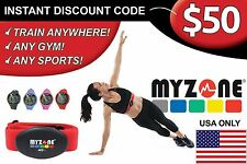 MYZONE MZ-3 $50 VOUCHER CODE INSTANT (USA ONLY)!