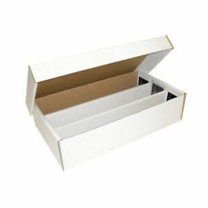 10x BCW Super Shoe box (3000 Count) CT Corrugated Cardboard Storage Boxes box