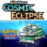 50 Cosmic Eclipse Codes Pokemon TCG Online Booster sent IN GAME / EMAILED FAST!