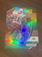 2020 Panini Prizm Draft Picks Barry Sanders Green Prizm #11