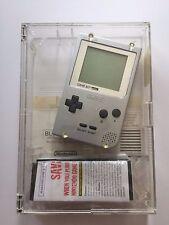 Game Boy System Silver Pocket MGB-001 Vintage GameBoy