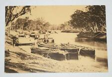 Postcard-  Barges with Broken Hearts - Australian Yesteryear Cards - History