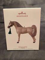 "2018 Hallmark ""DREAM HORSE"" Arabian Keepsake Ornament"