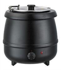 OW Elektrischer Suppenwärmer - Suppentopf - Koch-Topf 10 Liter, Ø330mm, 400W