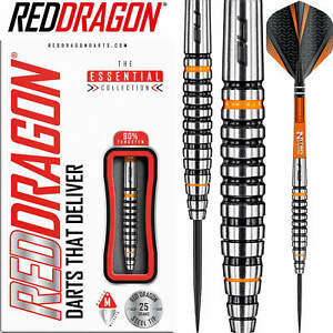 Red Dragon | Amberjack 14 Darts | 23g 25g 27g | Steel Tip | 90% Tungsten
