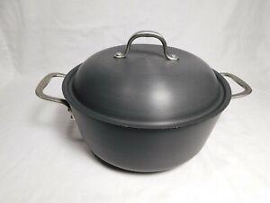 Calphalon Commercial 7 qt Chef's Pan, 147, Anodized Aluminum