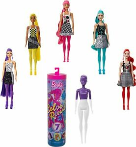 Barbie Color Reveal Doll with 7 Surprises (Styles May Vary) GTR94 NEW