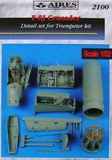 Aires 1/32 F-8J Crusader Detail set for Trumpeter Kit # 2100