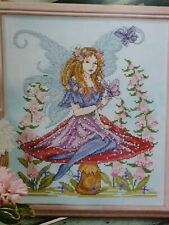 Colourful Fairy Cross Stitch Chart only