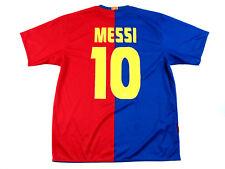 FCB Official Lionel MESSI Jersey Men's Size XL Barcelona Soccer UNICEF 2008-2009