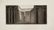 Incisione Originale 1809-1829 Description Egypte Egitto Napoleone