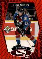 1998-99 Upper Deck UD Choice Starquest Red Peter Forsberg #SQ20