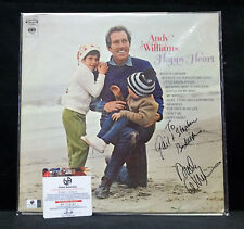 Andy Williams Autographed Record Happy Heart With Global COA-Musician-TV Show