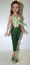 Clam Bake Halter Top Crop Pants Doll Clothes Sewing Pattern Ellowyne Tonner