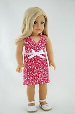 Modern Doll Clothes fits 18 inch American Girl Dolls-Lazy Summer Dayz Pajamas