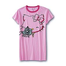 Womens Hello Kitty Nightgown Sleep Shirt Size Medium,Large,XL Sanrio Pajamas NEW