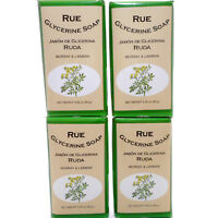 4 Pack Murray & Lanman Rue Glycerine Soap Jabon de Ruda y Glicerina