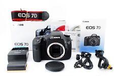 Canon EOS 7D 18.0MP Digital Camera Body w/Box Less than 100000 Shutter Count