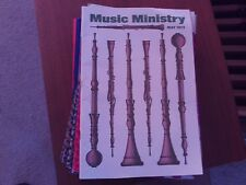 """Lot of 32 Issues of """"Music Ministry"""" Journal (United Methodist Publishing House)"""